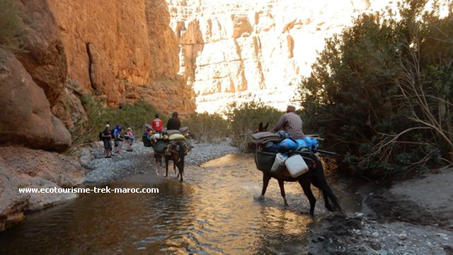 Trek au M'goun Maroc
