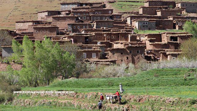 Trek en famille au Maroc