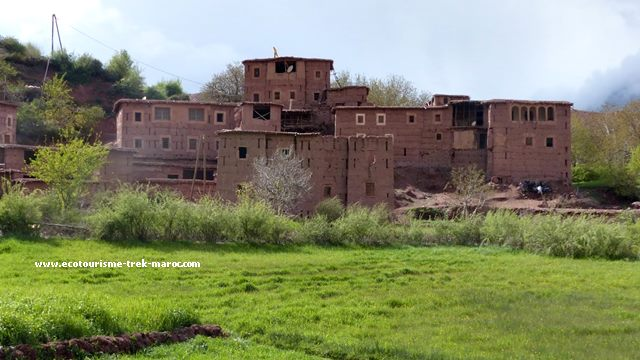 Trek vallée Ait boulli Maroc