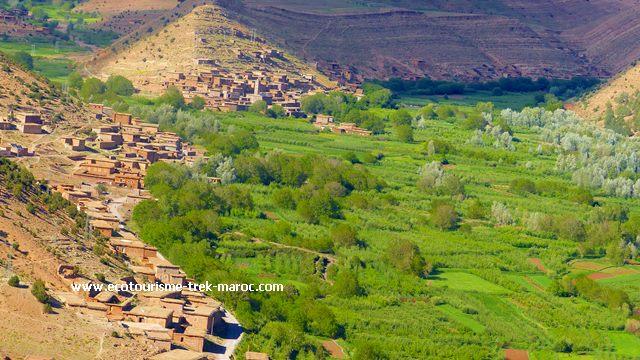 la vallée heureuse d'Ait Bougmez