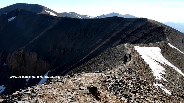 randonnée Ascension du M'goun