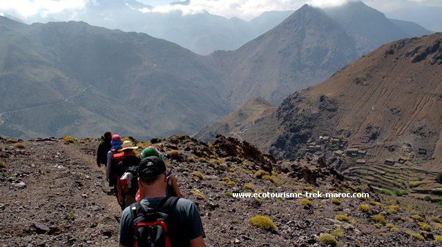 Mini randonnée au Maroc