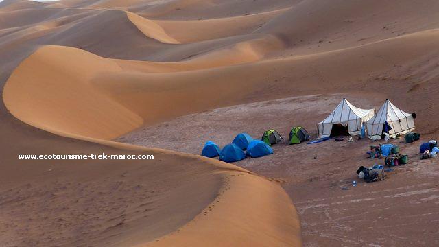 Randonnée désert sud de M'hamid
