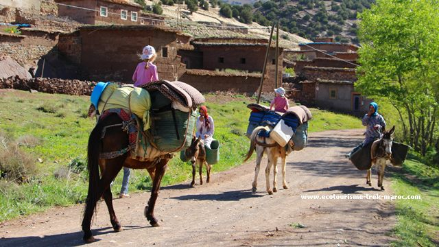 Randonnée Maroc famille