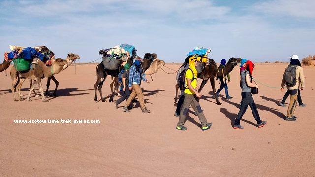 Randonnée Sahara Maroc